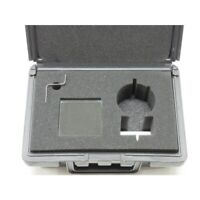 DrumDial Hard Case with Calibration Glass and Edge Gauge DDC