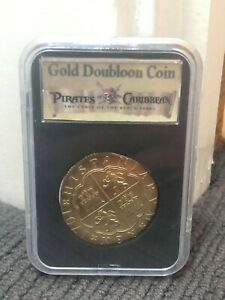 Pirates of the Caribbean - Screenused Gold Metal Coin