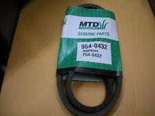 NOS Genuine MTD Genuine quality belt 954-0358,754-0358  (top bin)