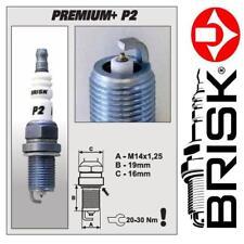 1x brisk Iridium Premium + Zündkerzen P2 (1620) BP2+
