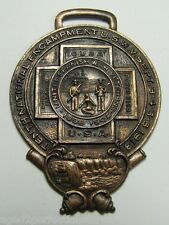 1913 United Spanish War Veterans Fob Medallion 1898-1902 Usa rare htf Bastian Ny