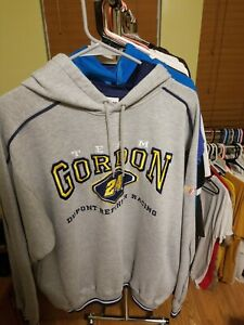 Vintage Team Jeff Gordon Dupont Refinish Racing #24 Embroidred M Hoodie NASCAR