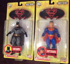 DC DIRECT SUPERMAN BATMAN PUBLIC ENEMIES : Action Figures MIB Ed McGuinness Art