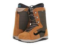 VANS Men's HI-STANDARD PRO Snowboarding Boots - Brown/Green - US Size 8.5 - NIB