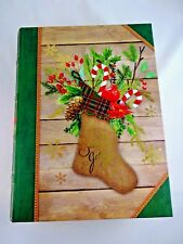 Christmas Book Storage Box 8 By 11 Inches Hollow Gift Box