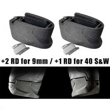 Solid Enhanced Magazine Extension Plate 2 Rounds For 40 S&W M&P-SHIELD 9mms