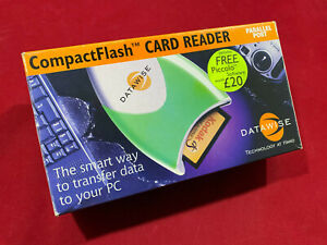 NEW Datawise CompactFlash  CF Card Reader Parallel Port for Windows PC
