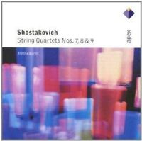 Brodsky Quartet - Shostakovich : String Quartets Nos 7, 8 & 9 (NEW CD)