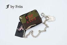 Geldbörse by FRIIS *Red Wallet Camou* Portemonaie mit Kette und Anhänger *Neu