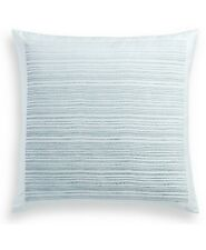 "Hotel Collection Ethereal 2 European Sham Cotton 26"" X 26"" Soft Blue Retail $370"