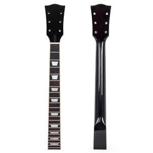 Electric Guitar Neck for Gibson Les Paul LP Maple 22 Fret Black