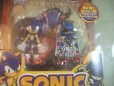 Sonic the Hedgehog Metal Sonic Action Figure Set Comic Book Pack Collector's Toy