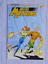 Justice League No. 17 May 1988 Comico The Comic Company First Printing NM (9.4)