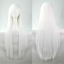 """Fashion Womens Multicolor Long Straight Wig Anime Cosplay Party Wigs 80cm/32"""""""