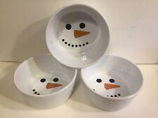 Chantal Snowman Ramekins/Baking Casserole Dish 2 Cup - 3 - Mint
