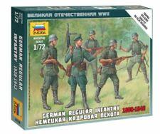 Zvezda 1/72 figuras-Alemán Infantería regular de 1939 - 1943 Z6178