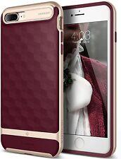 Caseology® - iPhone 7 Plus - Parallax - Premium Slim Bumper Case - Burgundy