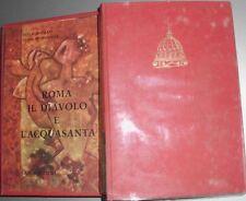 1962: MARTEGANI/RONSISVALLE - ROMA, IL DIAVOLO E L'ACQUA SANTA - CANESI EDITORE