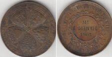 Médaille en bronze Société industrielle D'Amiens 1905