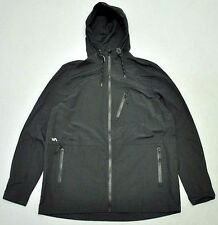 Men's RVCA Valihan Black Spray Windcheater Jacket - Size L. NWT, RRP $129.99