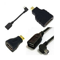 Android Tablet -Kabel-Adapter -Set - Mikro-USB- OTG ; Mini-USB- OTG ; HDMI- X7P7