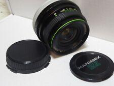 Canon FD FIT HANIMEX MC 1:2 .8 F = 28mm Obiettivo grandangolare per A-1, AE-1, AV-1 T70