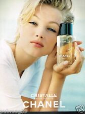 Publicité advertising 1998 Eau de Toilette Cristalle par Chanel