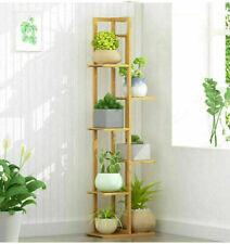 High Flower Rack Plant Shelf Planter Display Shelving Balcony Decor Furniture