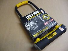 OnGuard 8002 Pitbull LS U-Lock D-lock Shackle Sold Secure GOLD Bike Security