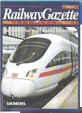Railway Gazette International magazine - July 1999 DH
