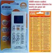 4000 in 1 Universal Air Con A/C Air Conditioner Remote fuji haier mitsubishi LG