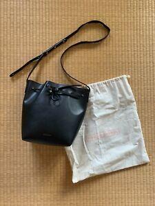 Mansur Gavriel Bucket Bag Black/Silver