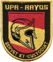 PARCHE POLICIA NACIONAL CNP UPR RAYOS MOTOS POLICE EB01263