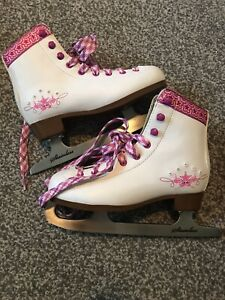 Sfr Girls Ice Skates Size 12