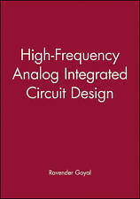 High-Frequency Analog Integrated Circuit Design (Wiley Series in Microwave and O