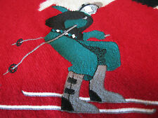 Pringle Scotland Sports Men's Wool Downhill Racer Skiing Crewneck Sweater Medium