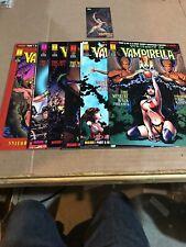 vengeance of vampirella Comic Lot 14-19