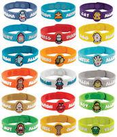 MediMates AllerMates Allergy Wristbands Medical ID Health Alert for Kids - 41090