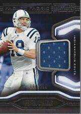 2018 Panini Playbook Fabled Fabric #2 Peyton Manning Jersey /299 - NM-MT