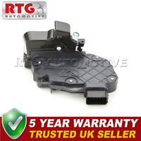 Door Lock Actuator Rear Left Fits Jaguar XF (Mk1) 2.2 D