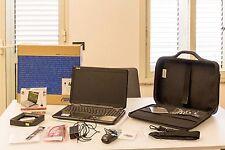 Pc notebook Asus, borsa da trasporto, mouse, supporto d'appoggio e molto altro.