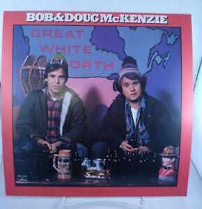 "BOB & DOUG McKENZIE Great North Promo poster flat 12""X12"" 1981 Strange Brew"