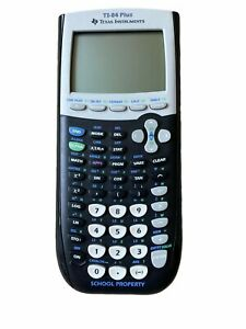 Texas Instruments TI-84 Plus Graphing Calculator Yellow Back