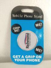 Universal Mobile Phones Expanding Stand Finger Mount Gripper | Richmond Logo