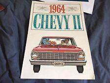 1964 Chevy Chevrolet Nova Chevy 2 Original Brochure Prospekt