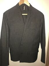 Gris Lunettes Summer Blazer Jacket-Hedi Slimane taille moyenne Boxy fit très rare