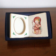 "Hummel ""Littlest Light"" Season Blessing Christmas Collectible Picture Frame 1993"