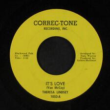 THERESA LINDSEY: It's Love / Good Idea 45 rare Soul