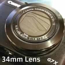 Canon G7X G16 Sony RX100 Leica X1 34mm Lens Armor Protector Cover UV Filter Cap