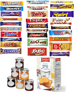 21 MULTIPACK Chocolate Lovers Assorted Bar / Toasts + Tiptree Jam Selection Gift